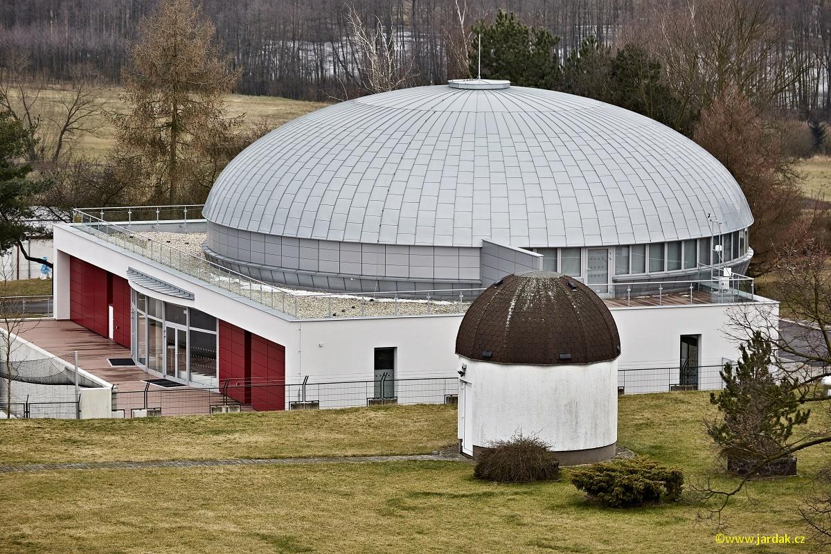 Digitální planetárium Hradec Králové