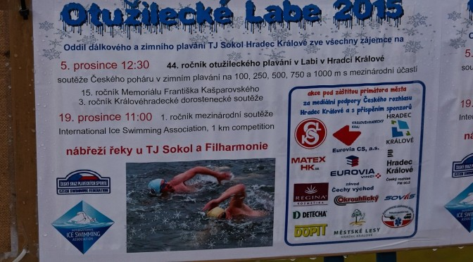 1. zimní mezinárodní plavecké závody – Hradec Králové